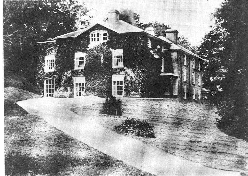 Plas Llymystyn Hall burnt 1899